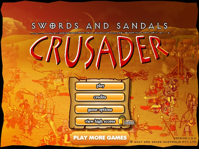 Swords and Sandals IV: Crusader